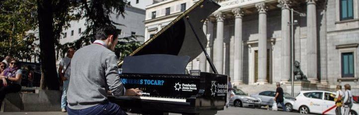 Las calles de Madrid se llenan de pianos