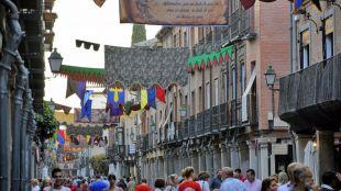 Carlos Saura y Pere Ponce, en la Semana Cervantina de Alcalá