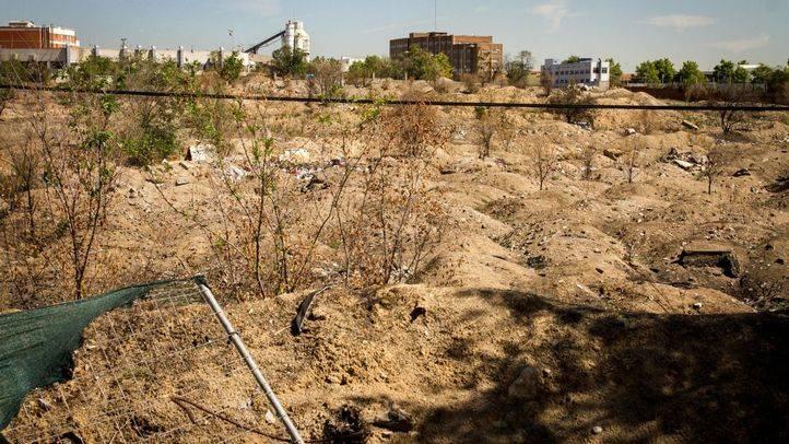 Terrenos donde se iba a desarrollar la operación 'Castellana Norte'.