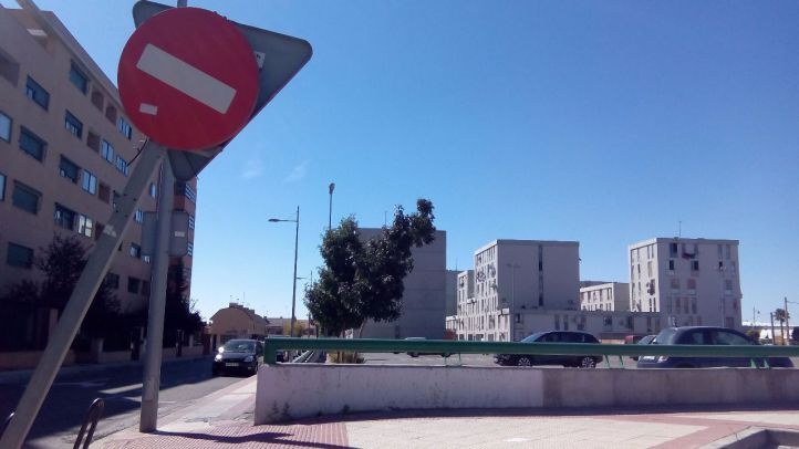 Edificio de viviendas de la calle Toledo de Parla