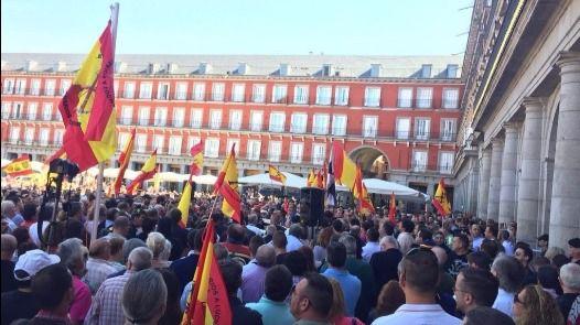 Millán Astray se queda sin calle, pero la bandera con su nombre desfilará en el Día de la Fiesta Nacional