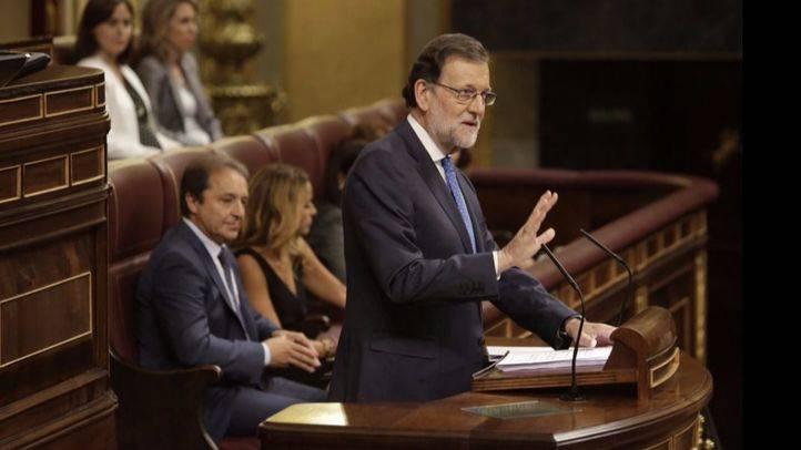 Rajoy, en la primera sesión de investidura