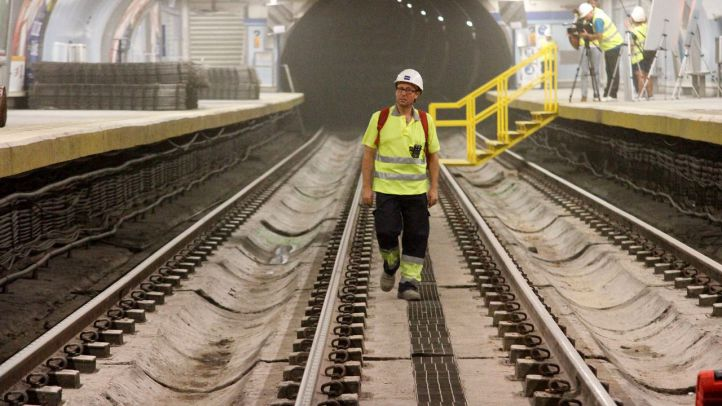 Obras en la Línea 1 de Metro