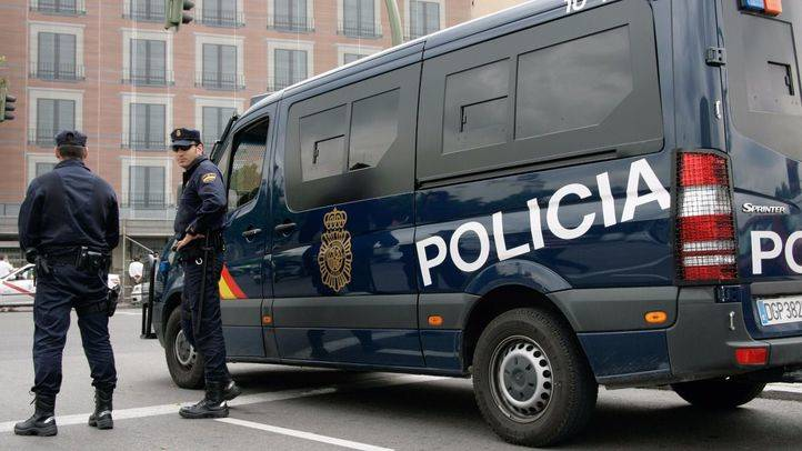 La Policía Nacional en el centro de Madrid (archivo)