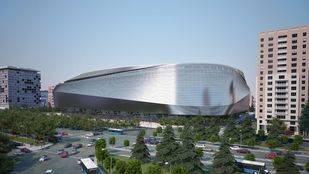 Infografía del nuevo estadio Santiago Bernabéu
