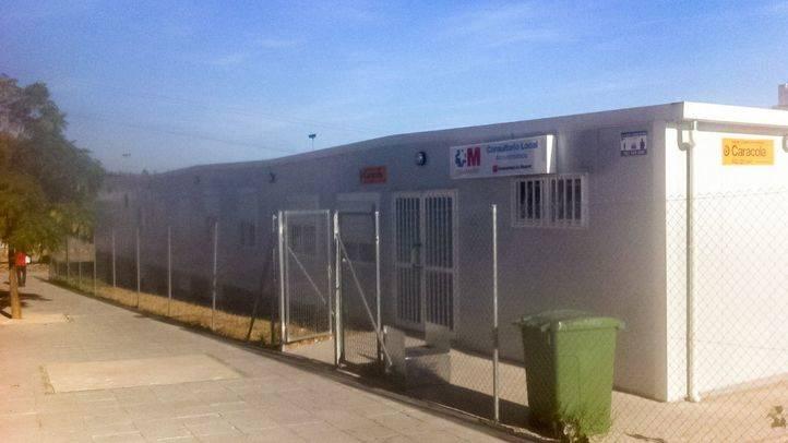 Centro de salud prefabricado de Arroyomolinos.