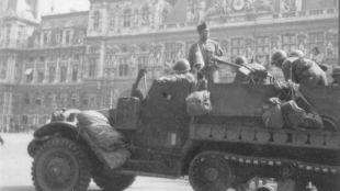 'La Nueve' alcanza el Ayuntamiento de París (agosto de 1944)