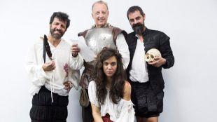 Cervantes y Shakespeare viajan a México