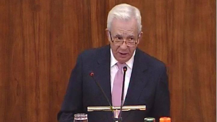 El consejero Jesús Sánchez Martos, en la Asamblea de Madrid