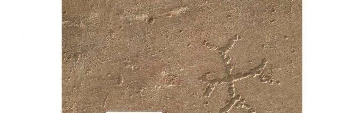 Grafitis centenarios desvelan la cara oculta del Templo de Debod