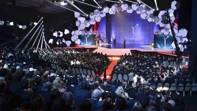 Gala de los Premios Platino celebrada en Uruguay.