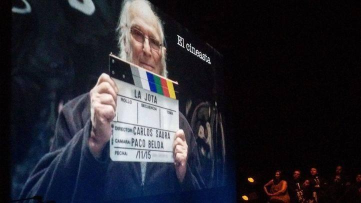 El cineasta Carlos Saura  Premio Ciudad de Alcalá de las Artes y las Letras