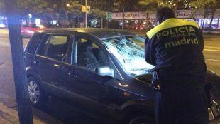 Un chico de 18 años, crítico tras ser arrollado al cruzar la Castellana
