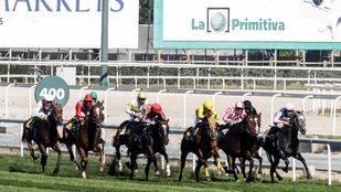 Dos jinetes, graves al chocar en una carrera en el Hipódromo de la Zarzuela