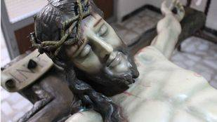 El 'ecce homo' de Pinto que escondía cuatro siglos de genuina antigüedad