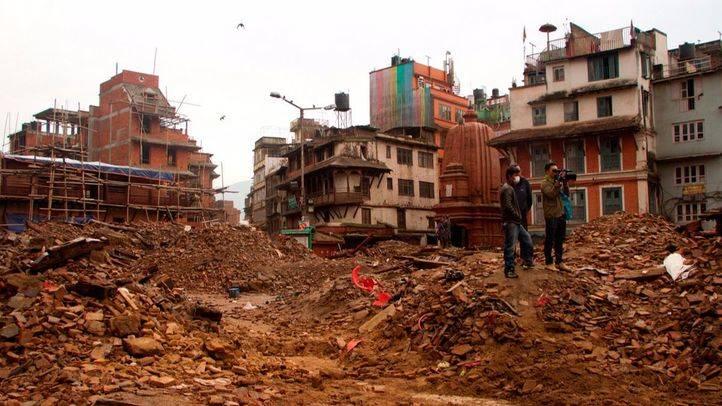 Terremoto de Nepal.
