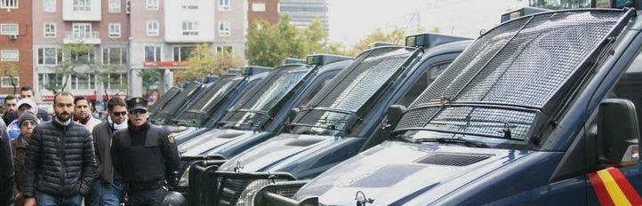 La Policía detiene a 13 ultras del Legia de Varsovia tras los incidentes en Madrid