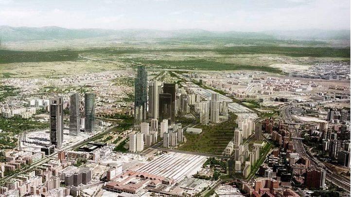 Según un estudio, Distrito Castellana Norte implica 120.000 empleos y destaca por su baja edificabilidad