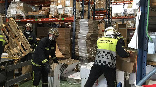 Accidente laboral con fallecimiento de un varón de 47 años en un almacen de electrónica en la calle calidad en Getafe. (Archivo)