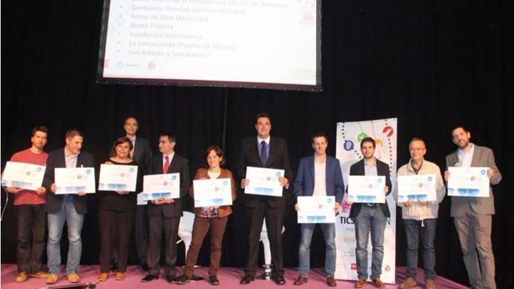 Cuatro colegios, premiados por ECM por su apuesta por la innovación