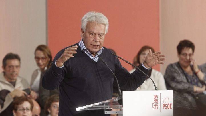 Felipe González está dispuesto a volver a la Autónoma tras las protestas