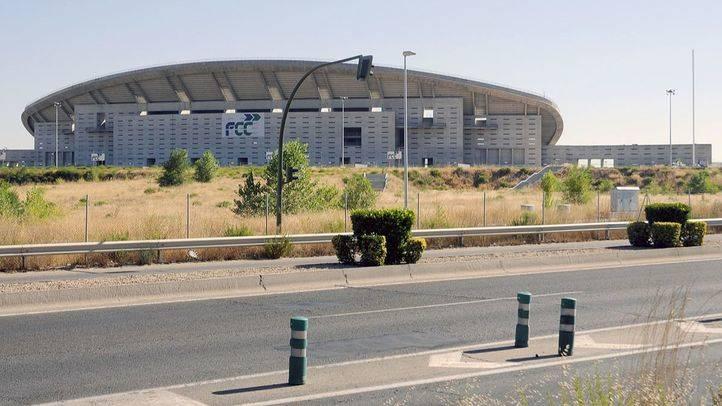 Estadio Ol�mpico en obras (archivo).