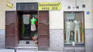 Tienda de ropa ecol�gica Biocottoniers en la calle Gravina (Archivo)