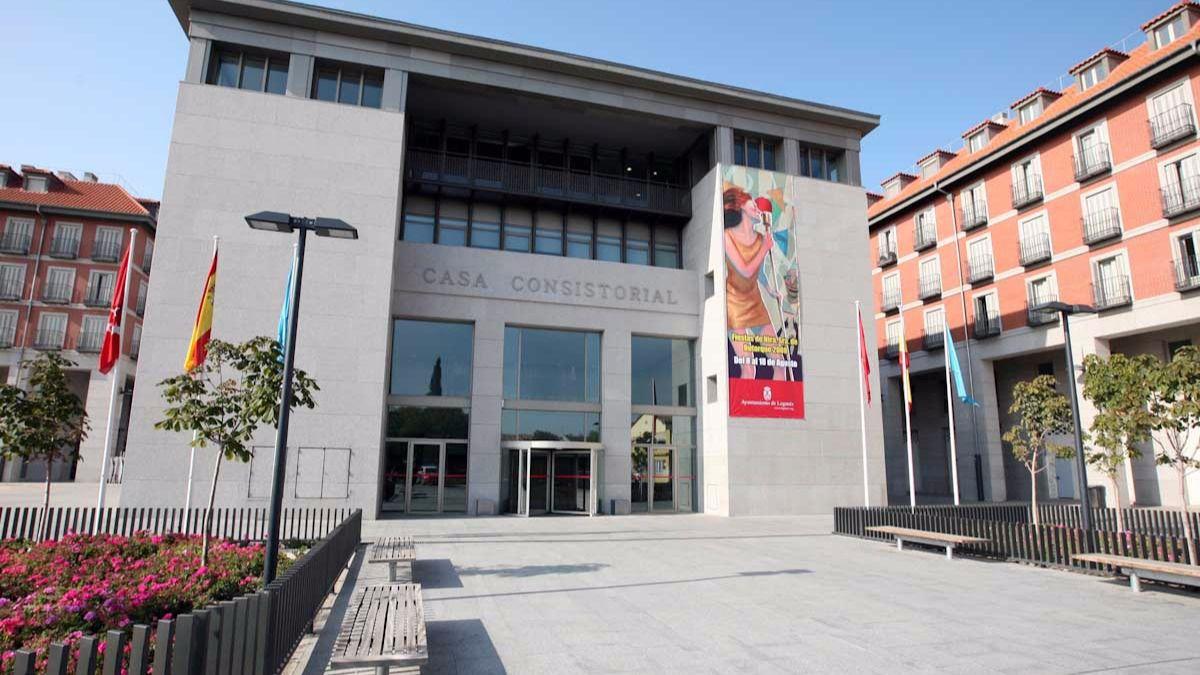 Ayuntamiento de Legan�s.