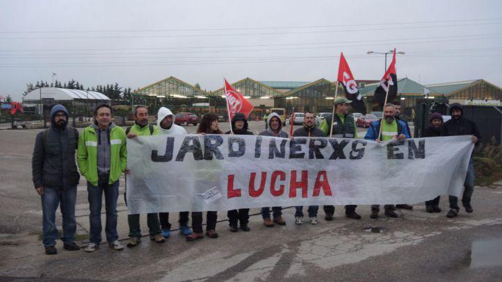 Jornada de huelga en Helechos.