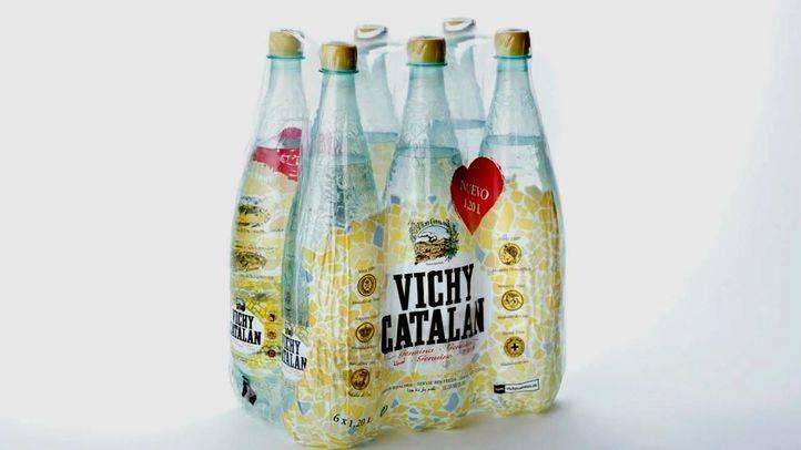 El nuevo envase de 1,2 litros de Vichy Catalan