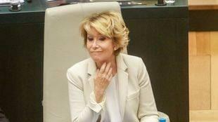 Aguirre dice que fue ella la que dijo 'no' a Eurovegas