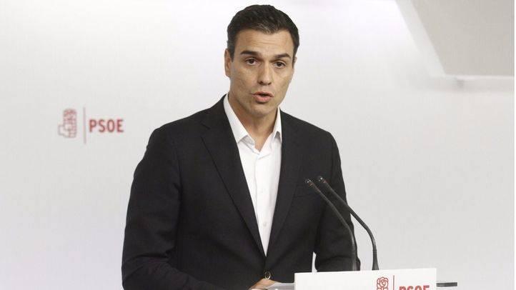 Pedro Sánchez votará 'No' a Rajoy este jueves