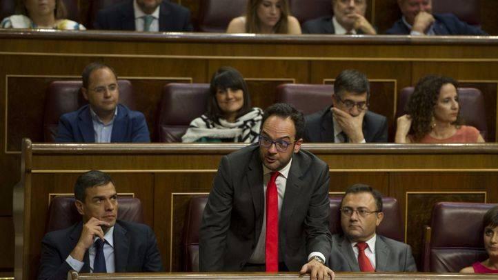 Hernando justifica el giro del 'No es No' a la abstención del PSOE