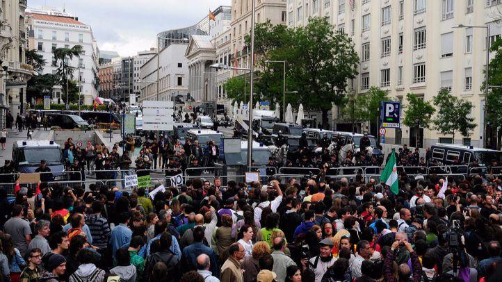Manifestaci�n Rodea el Congreso del 25 de septiembre de 2012