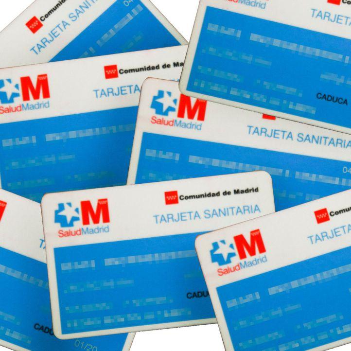 La tarjeta sanitaria en Madrid no caducará