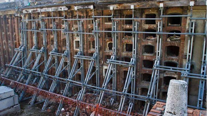 Ningún cementerio de Madrid pasa la inspección técnica de edificios