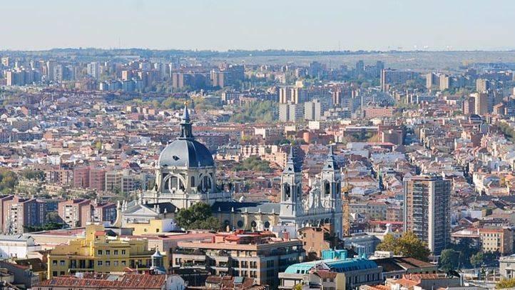 Vistas de Madrid: al fondo, el distrito de Latina.
