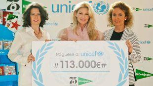 El Corte Inglés dona 113.000 euros a UNICEF para los niños más vulnerables