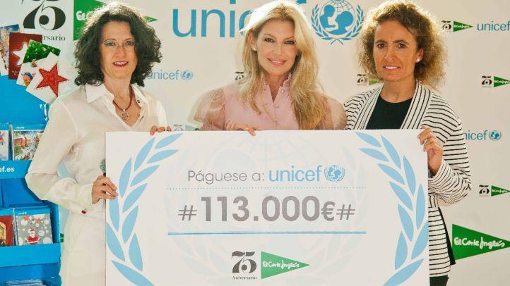 El Corte Inglés dona 113.000€ a UNICEF para mejorar las condiciones de vida de los niños más vulnerables