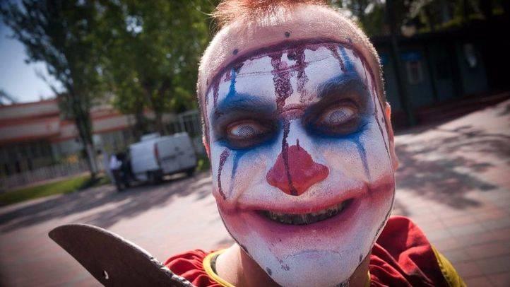 Payaso asesino en el Festival de terror Horror Fest (archivo)