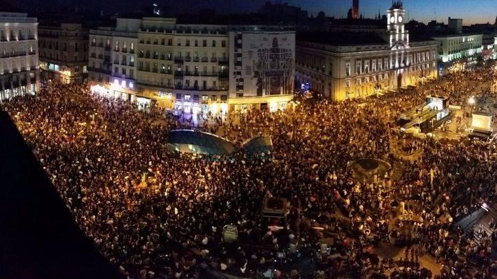 La Puerta del Sol, en la manifestación de la Coordinadora 25-S