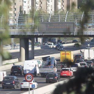 Madrid restringe la velocidad en la M-30 por los altos niveles de polución