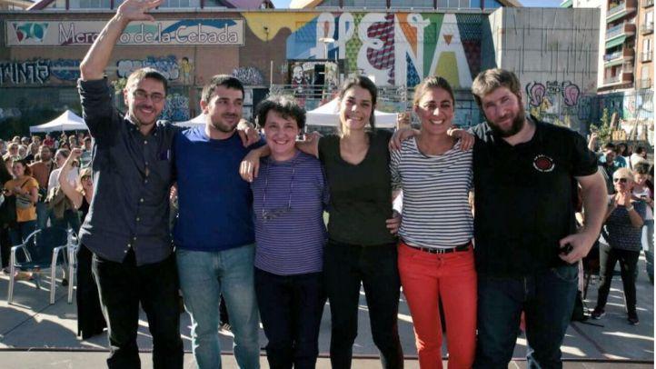 Ramón Espinar presenta su candidatura para las primarias de Podemos en el Campo de la Cebada