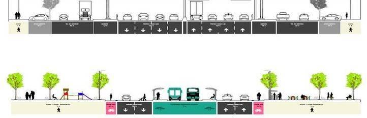 Una plataforma para autobuses unirá plaza Elíptica y Atocha en 12 minutos