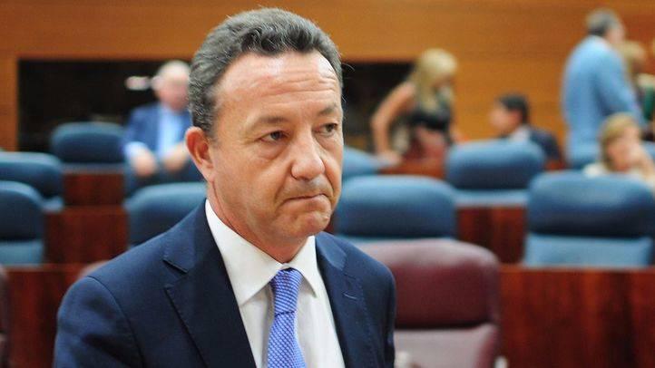 Iñigo Henriquez de Luna, portavoz del PP en la Asamblea