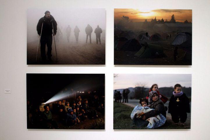 Exposición Somos Migrantes en Caixaforum.