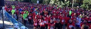 Hasta 10.000 personas participan en 'Corre por el niño'
