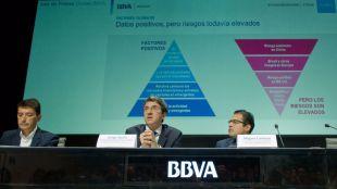 BBVA eleva dos décimas sus previsiones para 2016