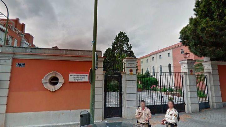 Residencia infantil Isabel Clara Eugenia en el barrio de Hortaleza de Madrid.