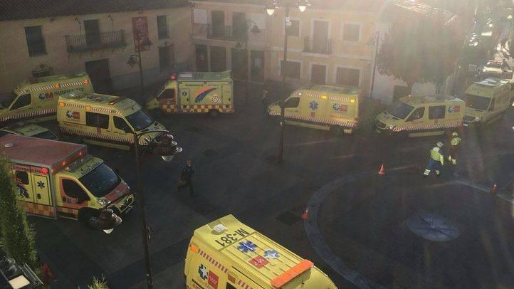 Un muerto y 30 trasladados por humo en el incendio de una residencia de ancianos en San Sebastián de los Reyes